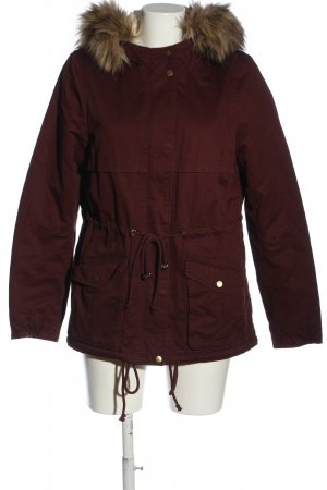 H&M Divided Parka red casual look
