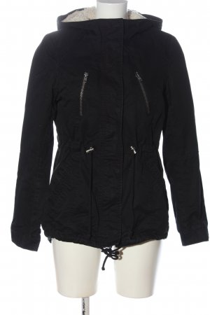 H&M Divided Parka schwarz Casual-Look