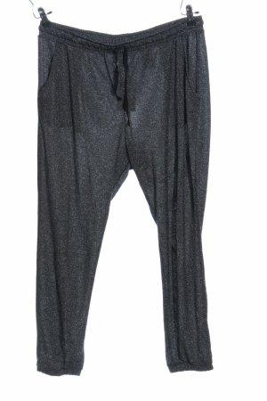 H&M Pantalón deportivo color plata-gris Viscosa