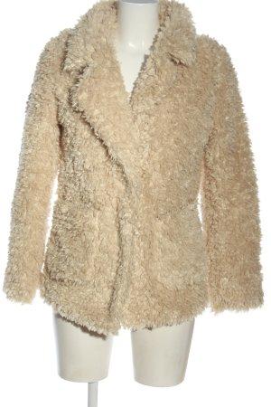 H&M Divided Abrigo de piel blanco puro look casual
