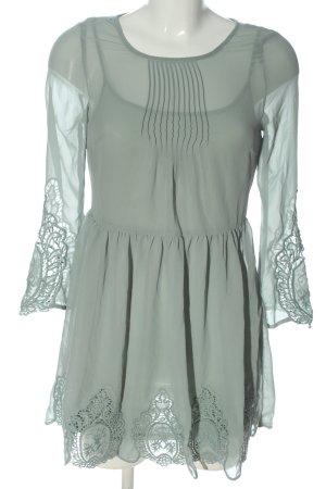 H&M Divided Vestido con enagua gris claro elegante