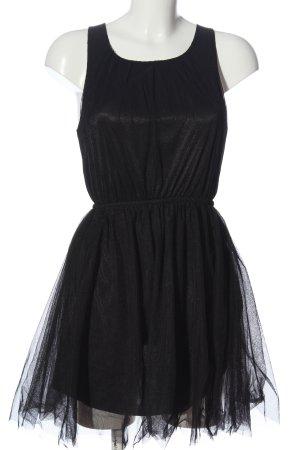 H&M Divided Petticoatkleid schwarz Elegant