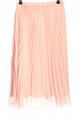 H&M Divided Pleated Skirt pink casual look