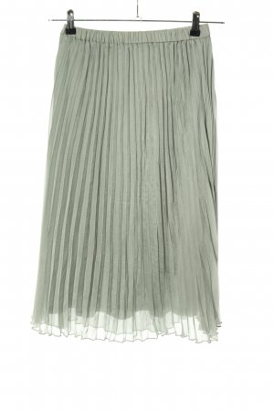 H&M Divided Pleated Skirt light grey casual look