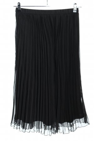 H&M Divided Geplooide rok zwart casual uitstraling