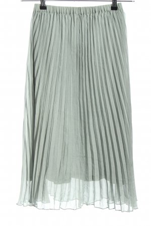 H&M Divided Pleated Skirt light grey elegant