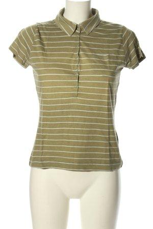 H&M Divided Polo cachi-bianco puntinato stile casual