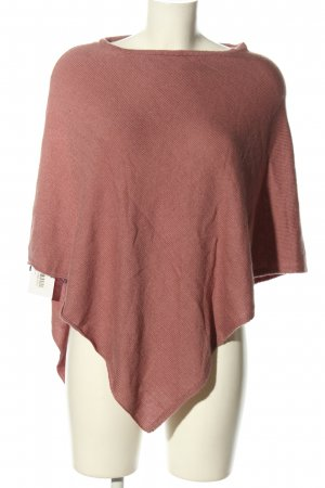 H&M Divided Poncho pink Casual-Look