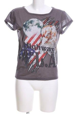 H&M Divided Print Shirt themed print casual look