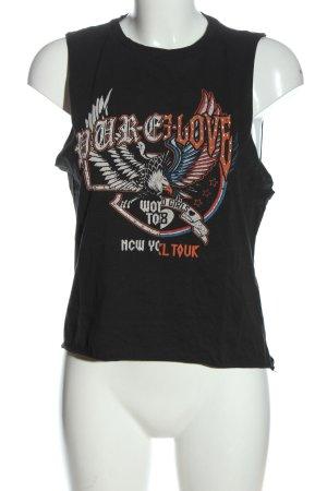 H&M Divided Print-Shirt Motivdruck Casual-Look