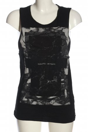 H&M Divided Basic Top Motivdruck Casual-Look