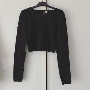 H&M Divided Crewneck Sweater black