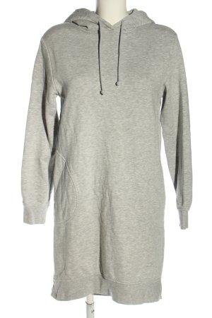 H&M Divided Vestido tipo jersey gris claro moteado look casual