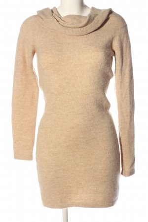 H&M Divided Vestido tipo jersey nude look casual