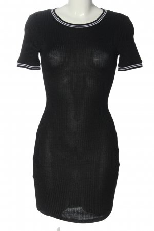 H&M Divided Sweater Dress black casual look