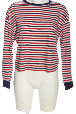 H&M Divided Longsleeve Streifenmuster Casual-Look
