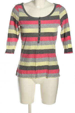 H&M Divided Stripe Shirt flecked casual look