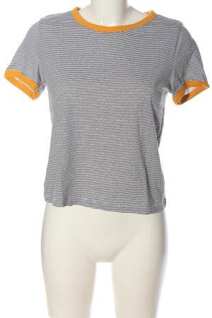 H&M Divided Koszulka w paski Wzór w paski W stylu casual