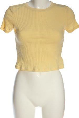 H&M Divided Ribbed Shirt primrose casual look