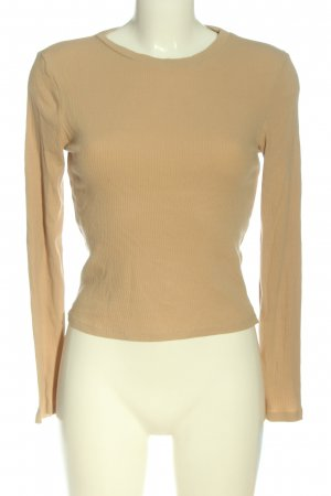 H&M Divided Rippshirt creme Casual-Look