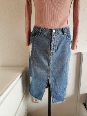 H&M Tulip Skirt blue