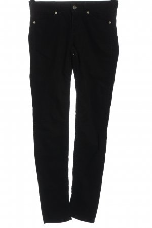 H&M Divided Drainpipe Trousers black casual look