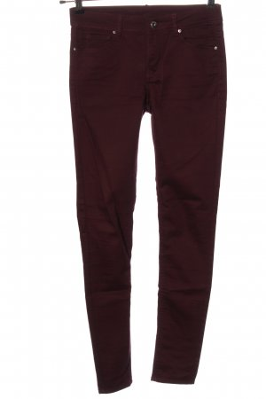 H&M Divided Drainpipe Trousers red casual look