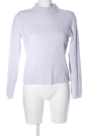 H&M Divided Maglione dolcevita grigio chiaro stile casual