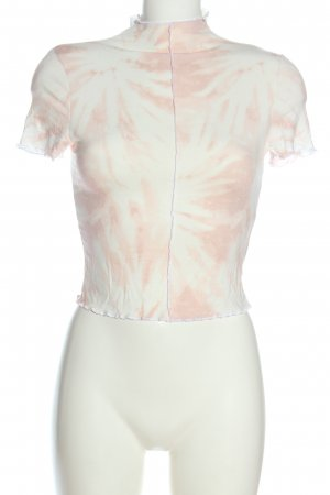 H&M Divided Neckholder Top white-pink graphic pattern casual look