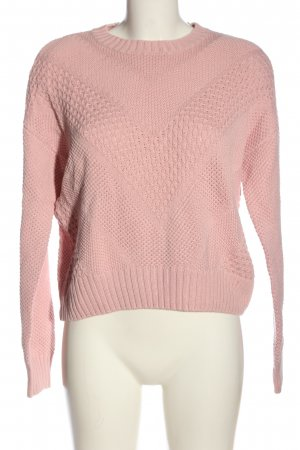 H&M Divided Rundhalspullover pink Casual-Look