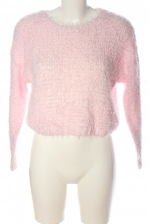 H&M Divided Knitted Sweater pink casual look