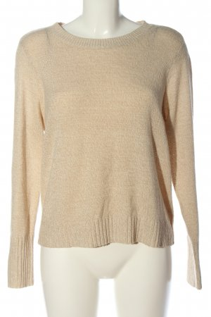 H&M Divided Rundhalspullover creme Casual-Look