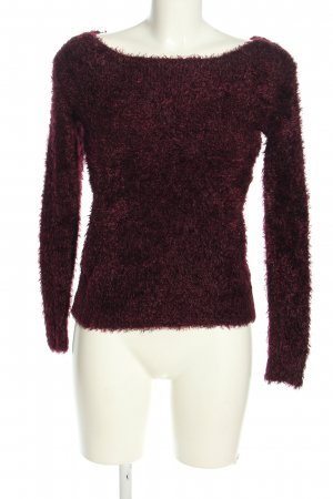 H&M Divided Rundhalspullover lila Casual-Look