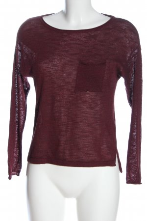 H&M Divided Crewneck Sweater pink casual look