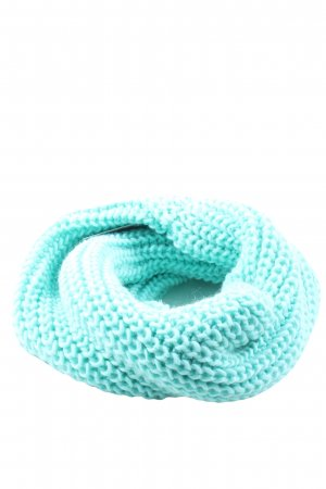 H&M Divided Snood turquoise cable stitch casual look