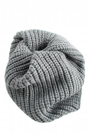 H&M Divided Snood light grey cable stitch casual look