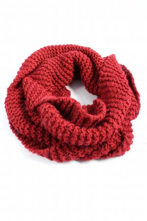 H&M Divided Snood red casual look