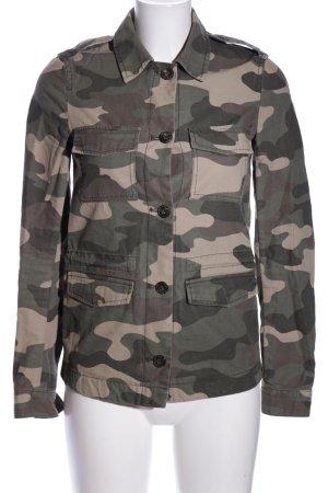 H&M Divided Veste safari motif de camouflage style décontracté