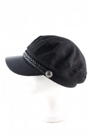 H&M Divided Gorra de plato negro look casual