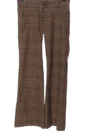 H&M Divided Flares black-brown allover print casual look