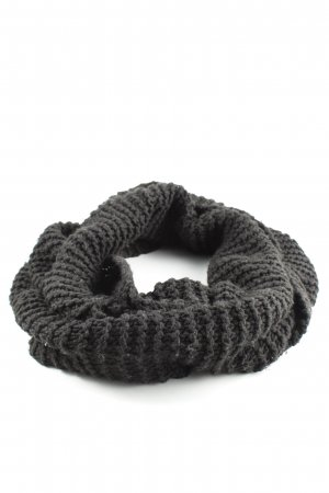 H&M Divided Bufanda tubo negro look casual