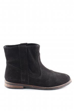 H&M Divided Slip-on Booties black business style
