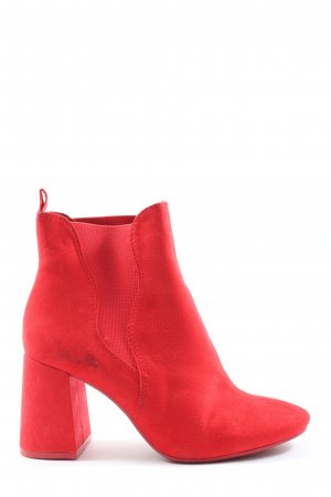 H&M Divided Slip-on Booties red casual look
