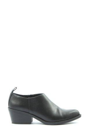 H&M Divided Zapatos sin cordones negro look casual