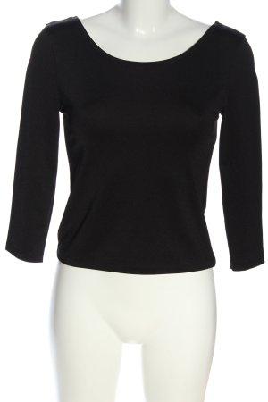 H&M Divided Schlupf-Bluse schwarz Casual-Look