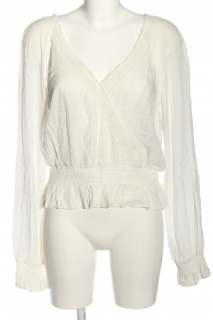 H&M Divided Schlupf-Bluse wollweiß Casual-Look