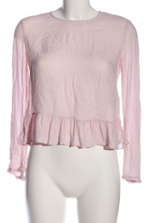H&M Divided Schlupf-Bluse pink Casual-Look