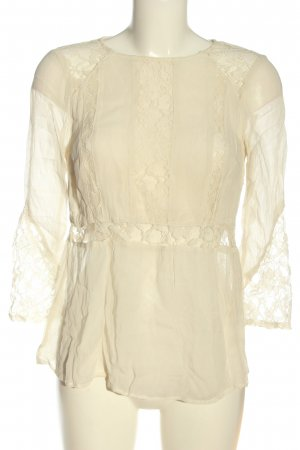 H&M Divided Schlupf-Bluse creme Casual-Look