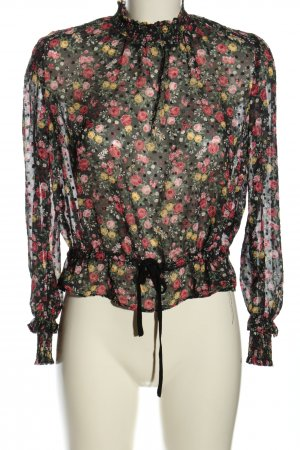 H&M Divided Schlupf-Bluse Blumenmuster Casual-Look