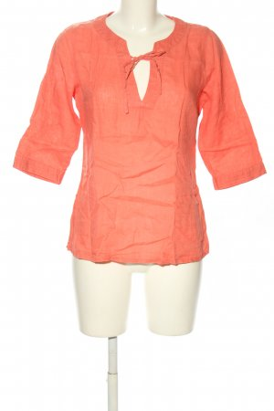 H&M Divided Schlupf-Bluse hellorange Casual-Look